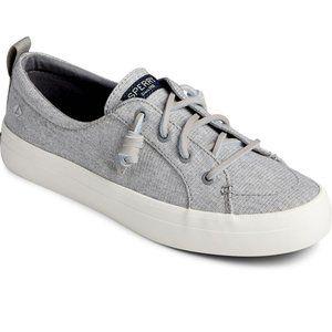 NEW Sperry Crest Vibe Sparkle Linen sneaker